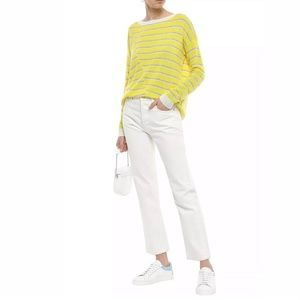 New Anthropologie Charli Striped Cashmere Sweater